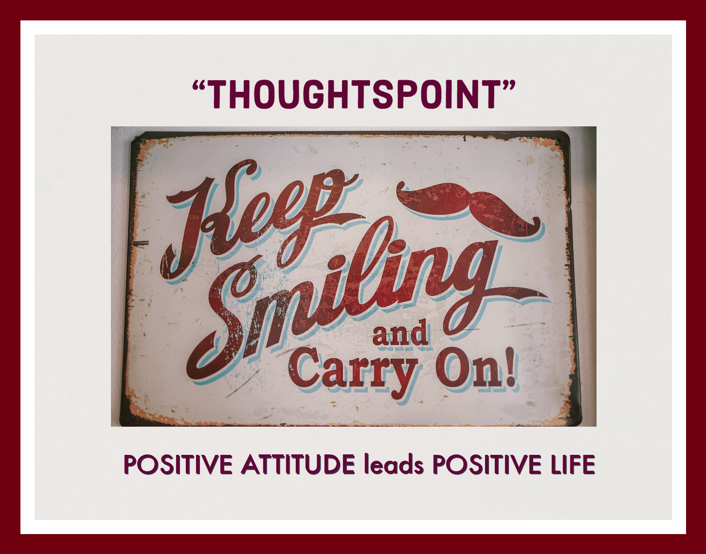 The power of Positive thinking – To lead the best life according to 2020